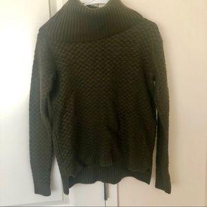 Ann Taylor 100%cashmere sweater Emerald